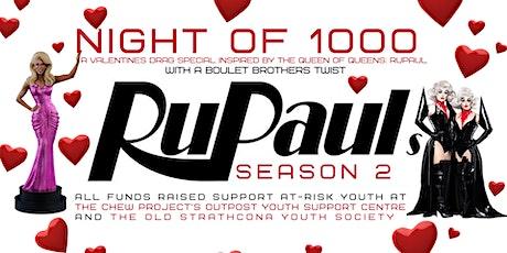 Night of 1000 RuPauls: Season 2 tickets
