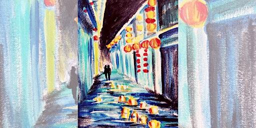 Brew N Brush: Love In Chinatown