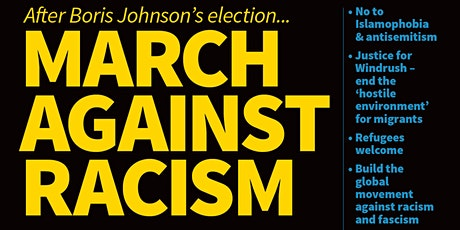 March Against Racism - Transport from Portsmouth tickets