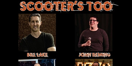 Laughs and Brews at Scooter's Too tickets