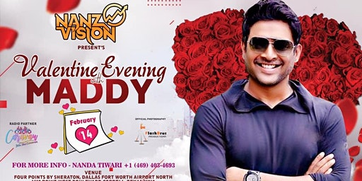 """Valentine Evening with """"Maddy"""""""