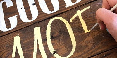 Paint Your Own Wooden Sign