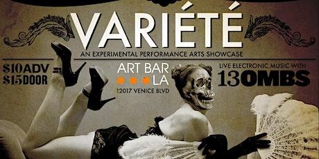 The Bacchanal and ArtbarLA Present: Variété tickets