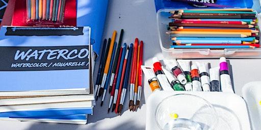 Watercolor Basics at Sullivan Hardware
