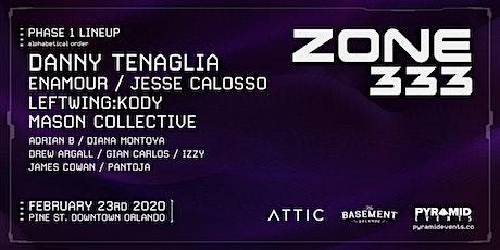 Pyramid Events: ZONE 333 Pine St Block Party @ Attic Orlando tickets