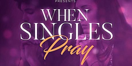 When Singles Pray tickets
