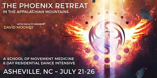 THE PHOENIX ~School of Movement Medicine 6 Day Residential Dance Retreat