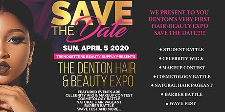 Denton Hair and Beauty Expo tickets