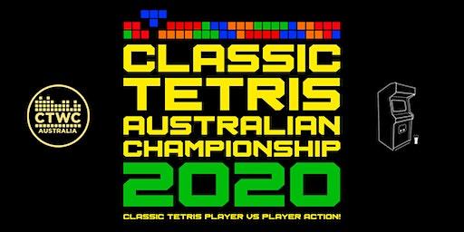 Classic Tetris Australian Championship 2020
