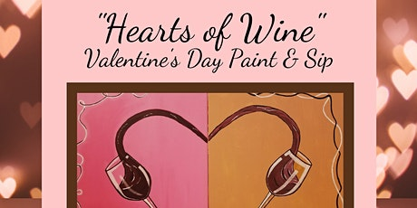 Valentine's Day Weekend Paint & Sip with Paintin & Poppin!!! tickets