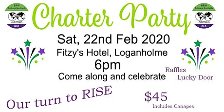Our time to Rise Charter party tickets