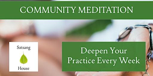 Community Meditation (Morning Drop In)