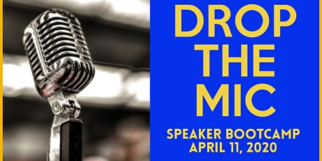 Drop The Mic Speaker Bootcamp tickets