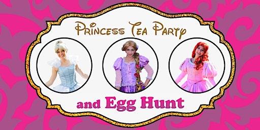 Princess Tea & Egg Hunt