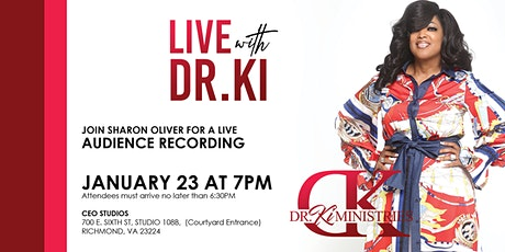 LIVE ON THE SET with  DR. Ki  & Publisher Sharon Oliver of CEO Magazine tickets