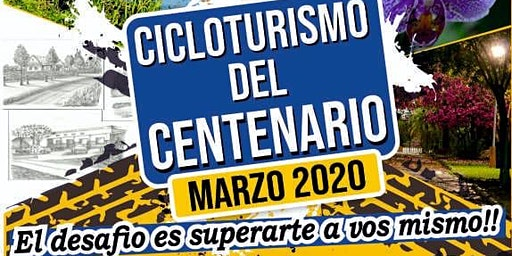 Cicloturismo del Centenario Montecarlo 2020