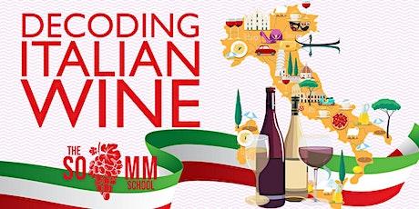 Decoding Italian Wine tickets