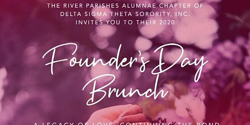 River Parishes Alumnae Chapter of D.S.T.,  Annual Founders Day Celebration