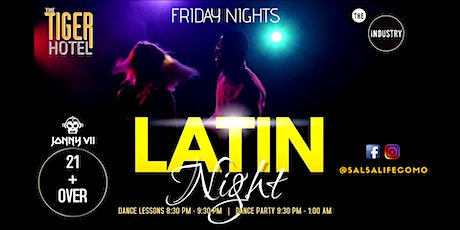 Latin Night @ The Industry tickets