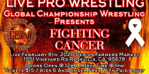 FIGHTING CANCER PRO WRESTLING SHOW