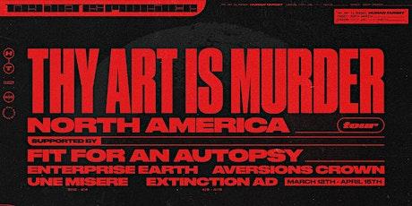Thy Art Is Murder tickets