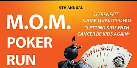 9th Annual MOM Charity Poker Run tickets