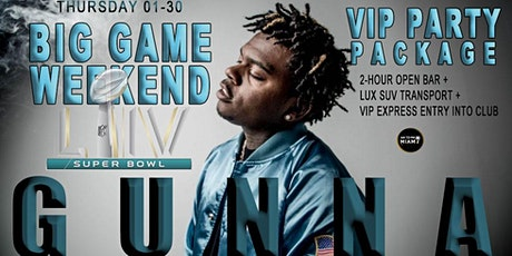GUNNA - Thursday  - 01-30-20 VIP Party Event  Ticket Miami Beach tickets