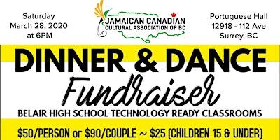Jamaican Canadian Cultural Association Dinner & Dance Fundraiser