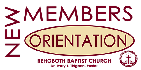 New Members Orientation tickets