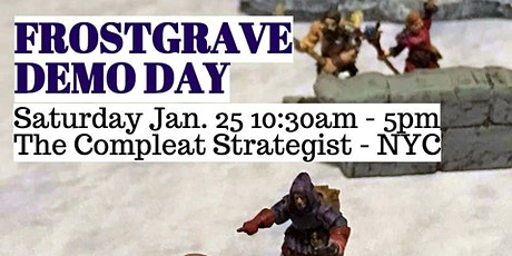 Frostgrave Demo Day tickets