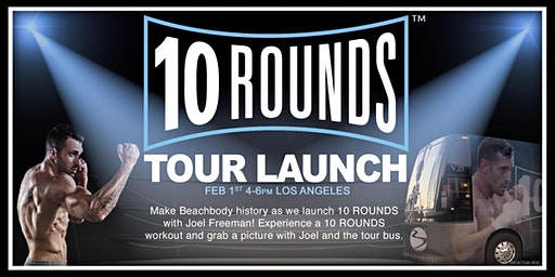 Beachbody's '10 ROUNDS' Tour Launch!