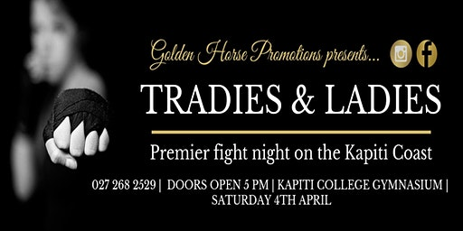 Tradies & Ladies Premier Boxing