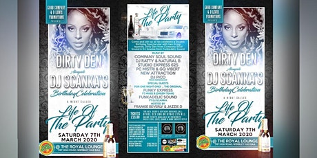 Dirty Den alongside DJ Scanka's Birthday Celebration tickets