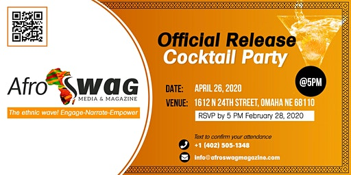 Afro Swag Magazine Official Release Cocktail Party