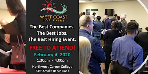 Las Vegas' Best Hiring Event!  Hundreds of Jobs!  Free to Attend!