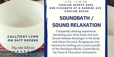 Soundbath / Sound Relaxation Experience tickets