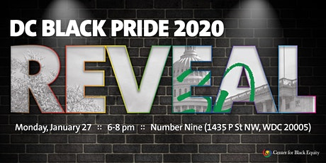 DC Black Pride 2020 Reveal tickets