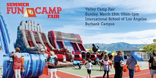 2020 Valley Summer Fun & Camp Fair presented by SoCalMoms + MomsLA