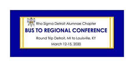 Bus Trip to 2020 Central Region Conference - Sigma Gamma Rho tickets