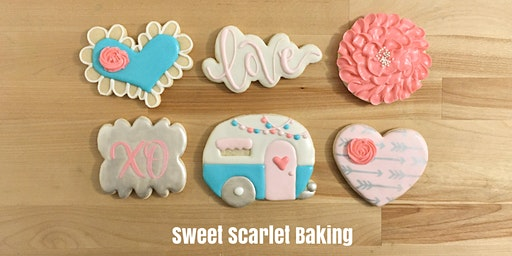 Valentine's Adult Intermediate Cookie Decorating Class