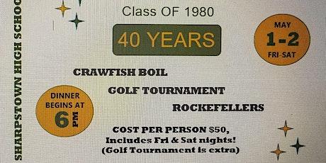 SHARPSTOWN High School Reunion Class of 1980