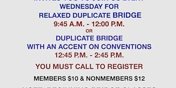 Greenwich YMCA Duplicate Bridge and Beginner Bridge Lessons