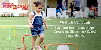 2020 Santa Monica Summer Fun & Camp Fair presented by SoCalMoms + MomsLA