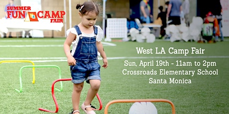2020 Santa Monica Summer Fun & Camp Fair presented by SoCalMoms + MomsLA tickets
