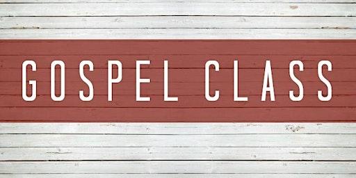 Crossroads Gospel Class Part 1