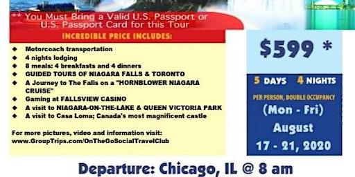 Niagara Fals Bus Tour