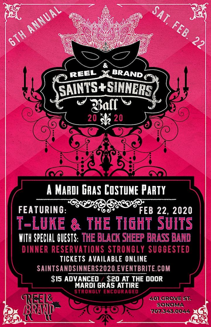 Saints & Sinners Ball (6th Annual) image