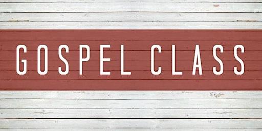 Crossroads Gospel Class Part 2