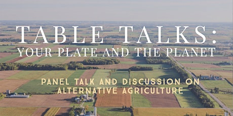 Table Talks: Your Plate and the Planet tickets