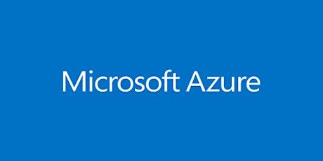 8 Weeks Microsoft Azure Administrator (AZ-103 Certification Exam) training in Ann Arbor | Microsoft Azure Administration | Azure cloud computing training | Microsoft Azure Administrator AZ-103 Certification Exam Prep (Preparation) Training Course tickets